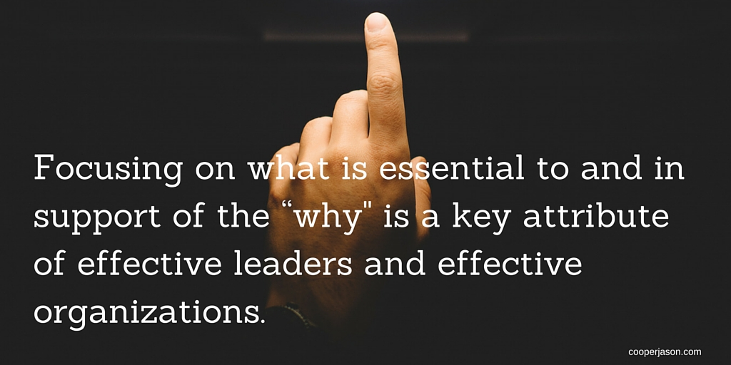 "Leadership, Communication, and the ""Why"""