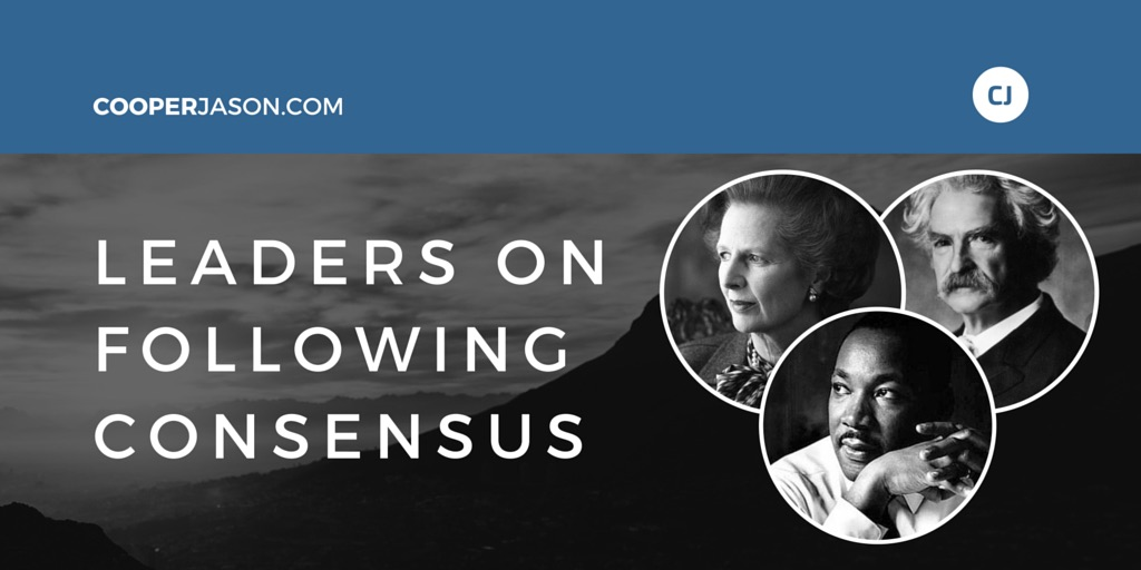 Leaders On Following Consensus