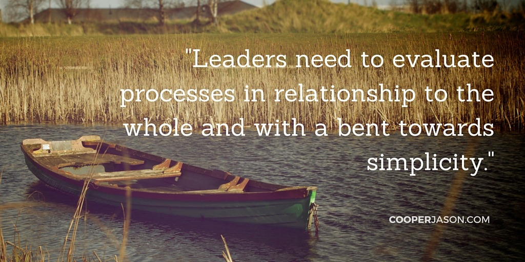 Leaders: Evaluate Processes, Not Just People